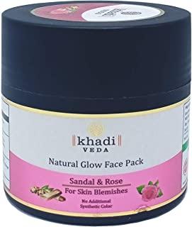 Khadi Veda Sandal & Rose Natural Glow Face Pack 100gm