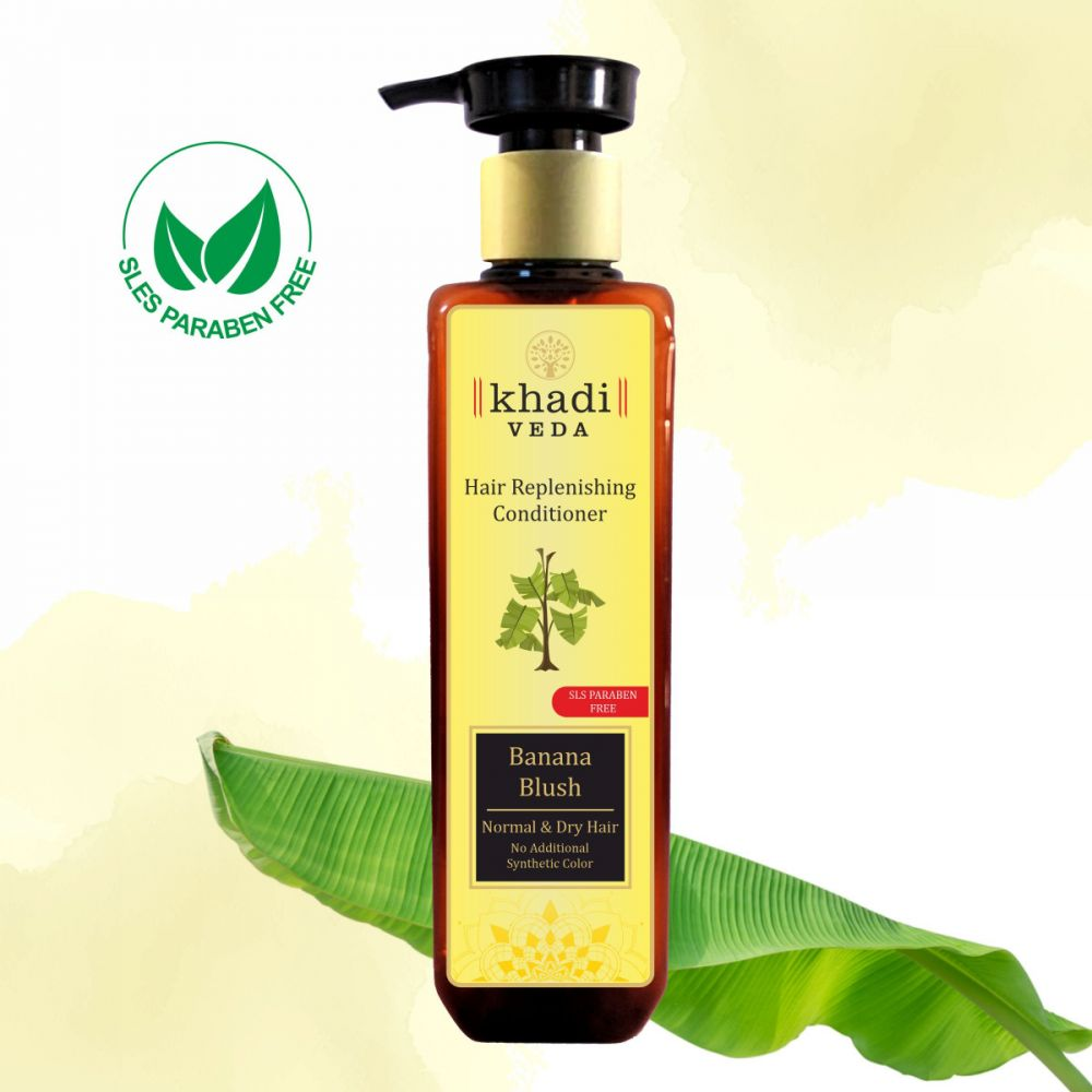 Khadi Veda Banana Blush Conditioner 200ml