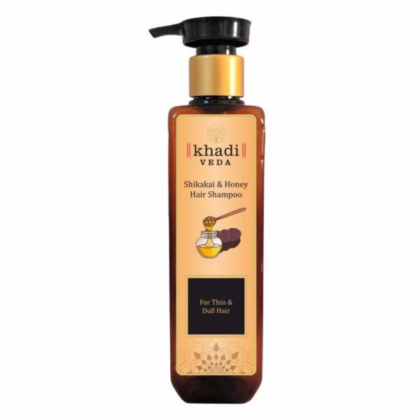 Khadi Veda Shikakai & Honey Hair Shampo 200ml