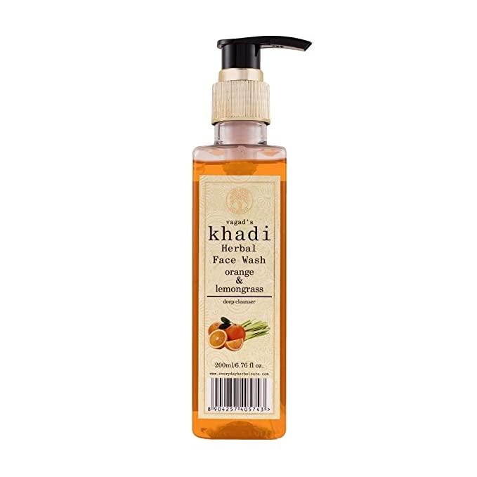 Khadi Veda Orange & Lemon Grass Fash Wash 200ml
