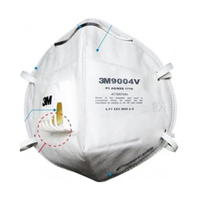 3m n95 8000 particle respirator mask pack of 5