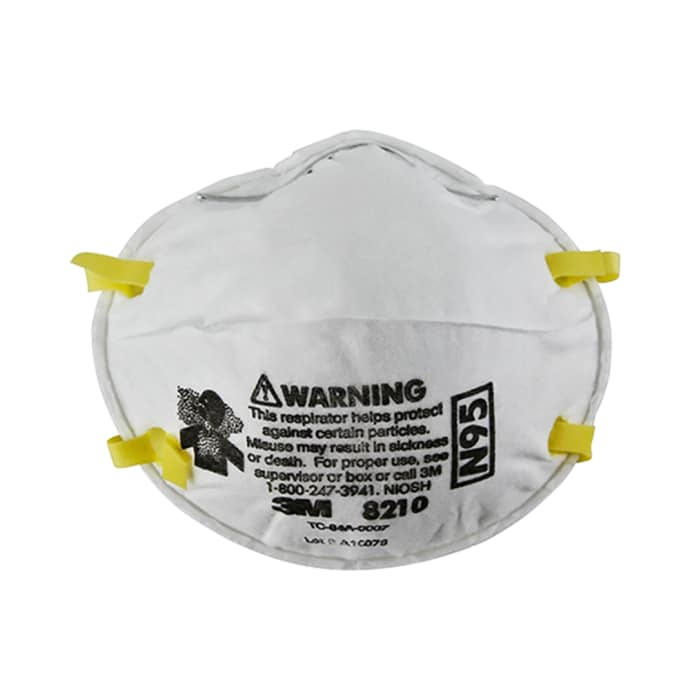 3m n95 8210 particulate respirator mask pack of 2