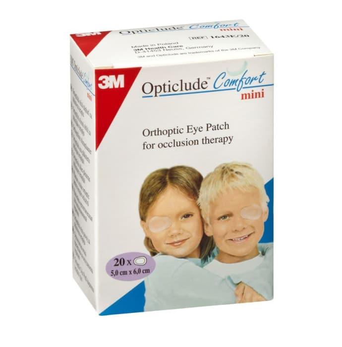 3m opticlude mini orthoptic eye patch