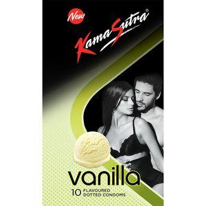 Kamasutra Vanilla Flavoured Condom