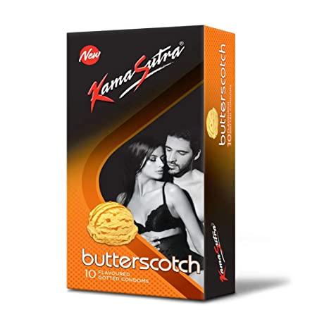 Kamasutra Butterscotch Flavored Condom