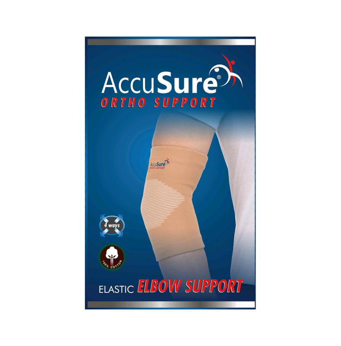 Accusure e-9 elastic elbow support xl