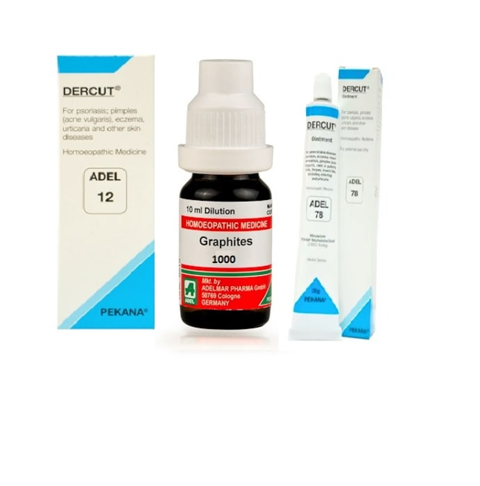 Adel anti-psoriasis combo (adel 12 + graphites dilution 1000 ch + adel 78)