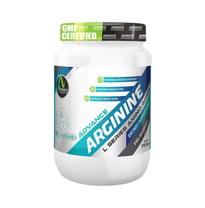 Advance nutratech arginine pre-workout capsule