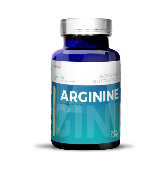 Advance nutratech arginine pre-workout powder unflavoured