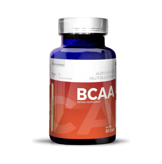 Advance nutratech bcaa pre & post workout capsule unflavoured