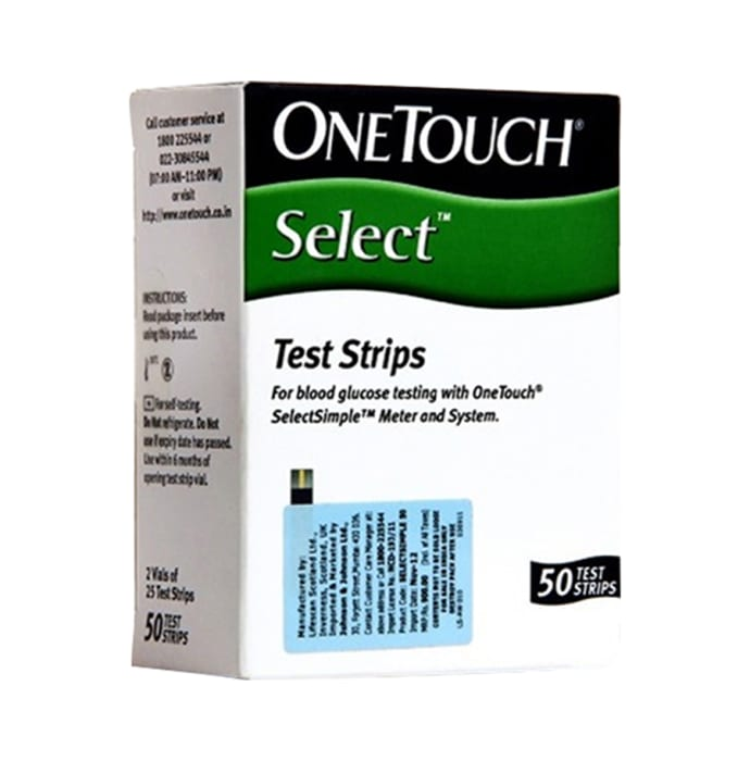 Onetouch select test strip 50 strips