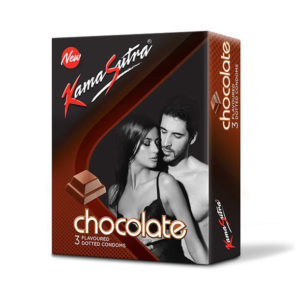 Kamasutra chocolate Flavoured condom